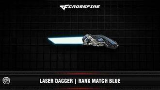 CF Laser Dagger Rank Match Blue