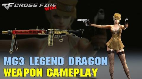 CrossFire - MG3 Legend Dragon - Weapon Gameplay