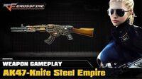 CrossFire VN - AK47-Knife Steel Empire