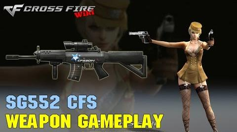 CrossFire - SG552 CFS - Weapon Gameplay