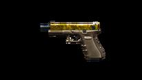 Glock-18 Gold Camo