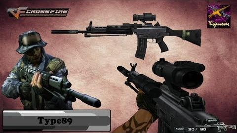 Cross Fire Japan (クロスファイア) Type89 (Type-89 Custom Scope Silencer) Gameplay
