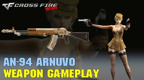 CrossFire - AN-94 Arnuvo - Weapon Gameplay