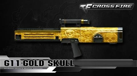 CrossFire China G11-Gold Skull ☆