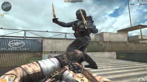 Cross Fire China Invisible Assassin Sword-Gemini GamePlay!
