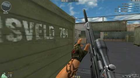 Cross Fire China PSG-1 Old Version 2008 (With Old Weapon Attributes)!