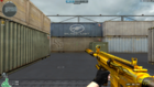 M4A1-XS GoldFire