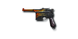 Pistol MauserM1896-Hellfire