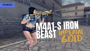 CFPH M4A1 Iron Beast Imperial Gold Gameplay