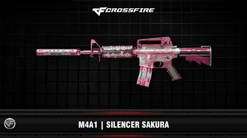 CF M4A1 Silencer Sakura