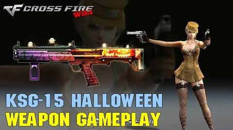 CrossFire - KSG-15 Halloween - Weapon Gameplay