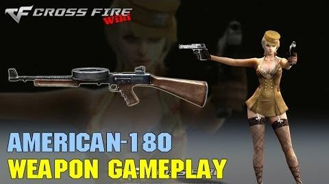 CrossFire - A180 - Weapon Gameplay