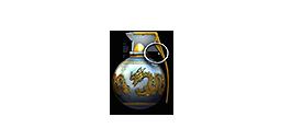 Grenade-Gold Black Dragon