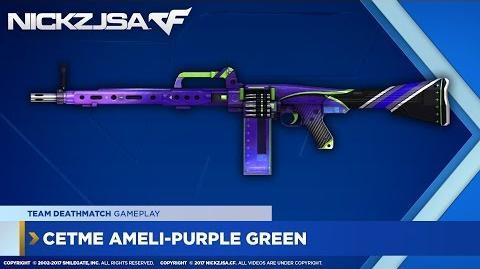 CETME Ameli-Purple Green CROSSFIRE Indonesia 2