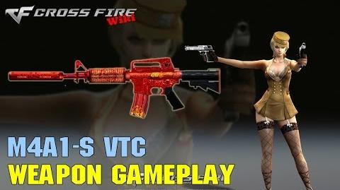 CrossFire - M4A1-S VTC - Weapon Gameplay
