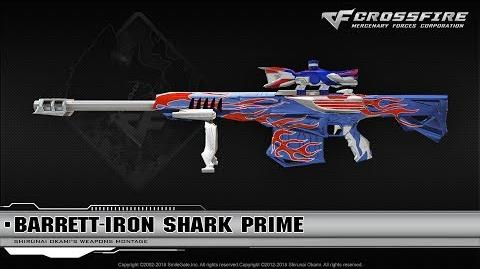 CrossFire China Barrett-Iron Shark (VIP)