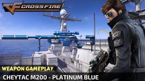CrossFire - Cheytac M200 - Platinum Blue