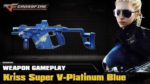 CrossFire VN - Kriss Super-V Platinum Blue