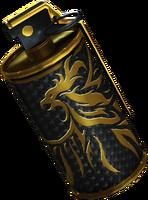 Smoke-Golden Phoenix