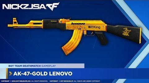 AK-47-Gold Lenovo CROSSFIRE China 2.0-0
