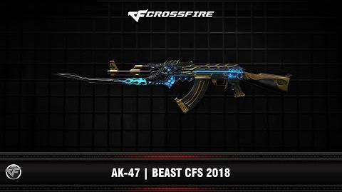 CF AK-47 Beast CFS 2018