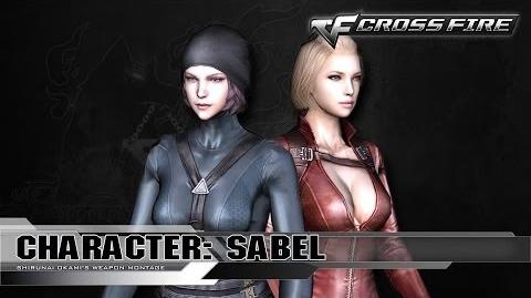 CrossFire Character SABEL ☆