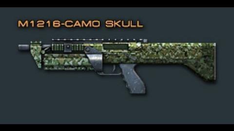Cross Fire China M1216-Camo Skull Review!