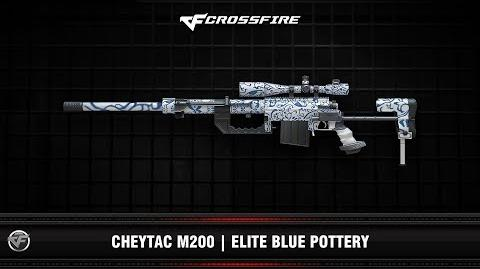 CF Cheytac M200 Elite Blue Pottery