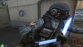 【CF】 Cross Fire China Laser Dagger-Rank Match Blue (激光匕首) ! GAMEMASSACRE