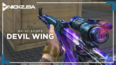 AK-47-Scope-Devil Wing CROSSFIRE China 2.0