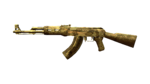 AK47 GOLD BLACK DRAGON RD