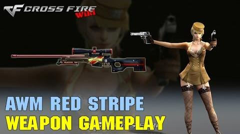 CrossFire - AWM Red Stripe - Weapon Gameplay