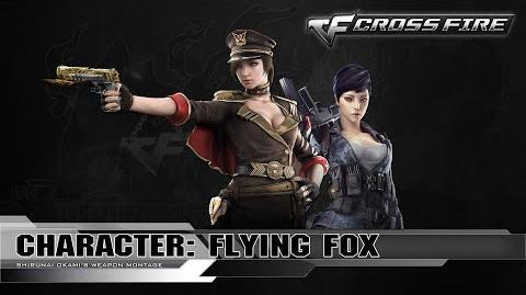 CrossFire Character Flying Fox ☆