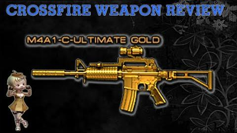 CrossFire China - M4A1-Custom Ultimate Gold -Review- !