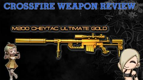 CrossFire Vietnam M200 Cheytac-Ultimate Gold Review !