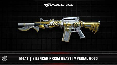 CF M4A1 Silencer Prism Beast Imperial Gold