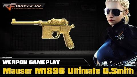 CrossFire VN - Mauser M1896 Ultimate Goldsmith