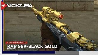 Kar 98K-Black Gold CROSSFIRE China