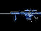 Barrett M82A1-Blue Silver Dragon