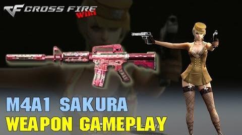 CrossFire - M4A1 Sakura - Weapon Gameplay