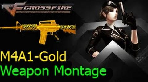 Crossfire Việt Nam M4A1 - Gold (Ghost Mode) ☆