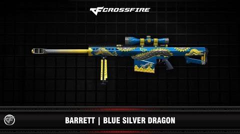 CF Barrett Blue Silver Dragon