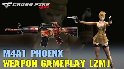 CrossFire - M4A1 Phoenix - Weapon Gameplay