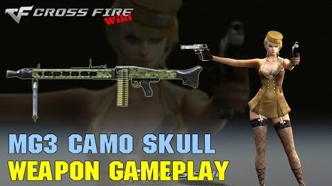 CrossFire - MG3 Camo Skull - Weapon Gameplay