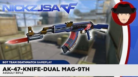 AK-47-Knife-Dual Mag-9th CROSSFIRE China 2.0 (EXP)