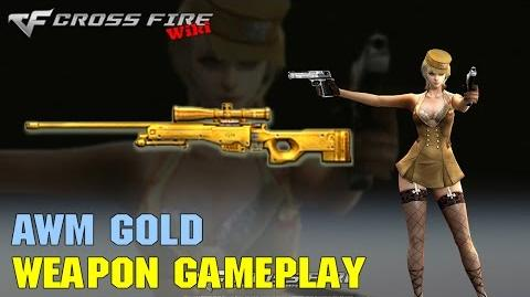 CrossFire - AWM Gold - Weapon Gameplay