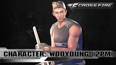 CrossFire Character WOOYOUNG - 2PM ☆