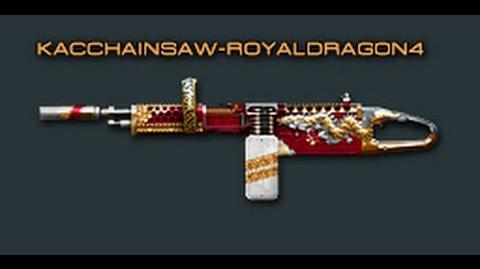 Cross Fire China -- KAC ChainSAW-Ancient Dragon (Royal Dragon 4) -Review-!