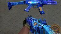 【CF】 Cross Fire China Scorpion EVO3A1-Blue Diamond (EVOIII-蓝水晶)!