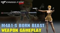 CrossFire - M4A1-S Born Beast - Weapon Gameplay
